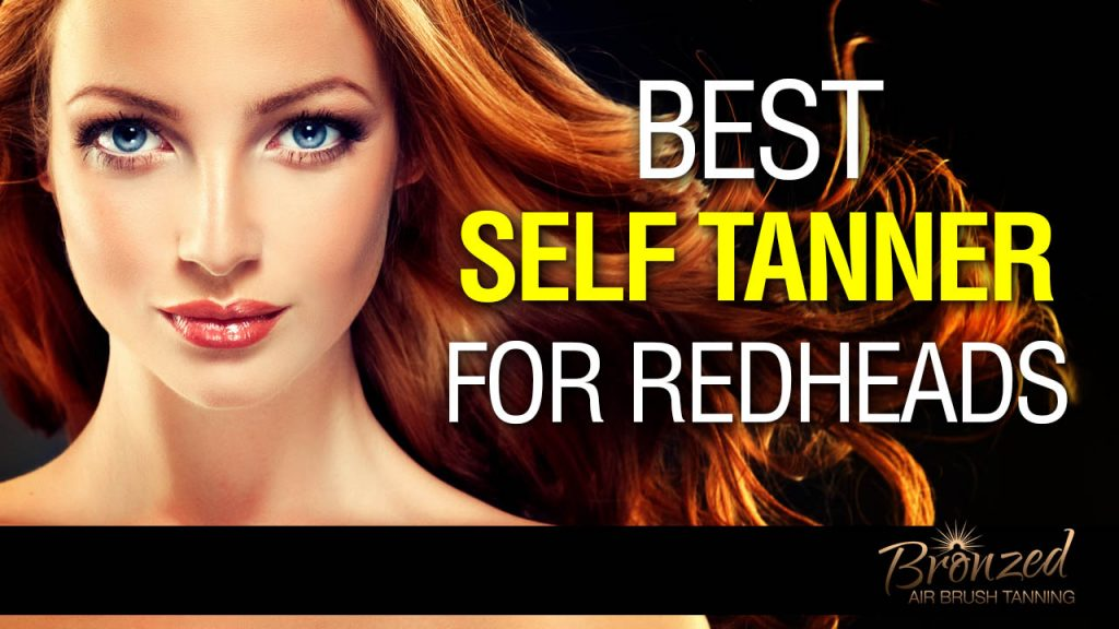 red head lady with tan