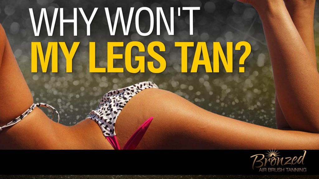 how to tan legs naturally