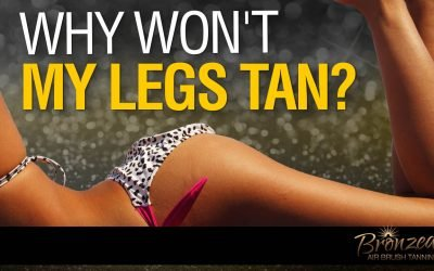Why Won't My Legs Tan?